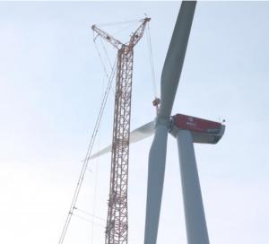 Bau des Windmühlenparkes 2014